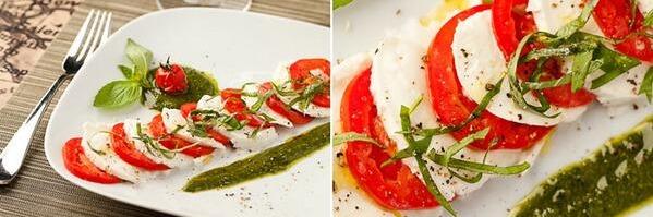Капрезе - лёгкий, полезный и вкусный итальянский салат